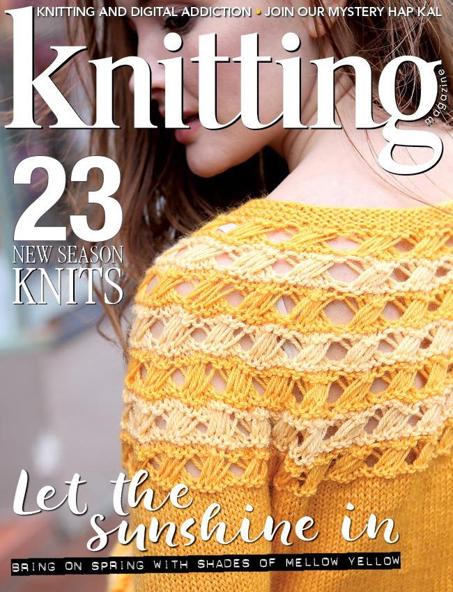Knitting Magazine Issue 180 Available Now Knitting Magazine
