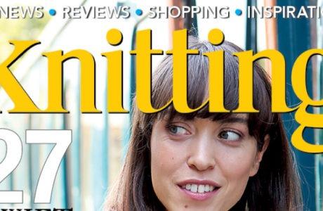 October issue Knitting magazine