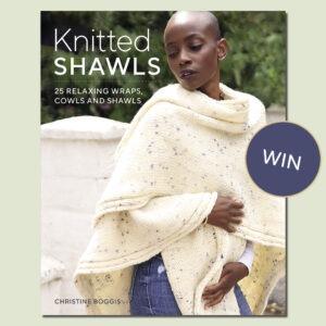 Knitted Shawls Book by Christine Boggis
