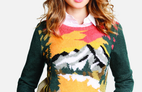 Landscape Sweater by Bergere de France